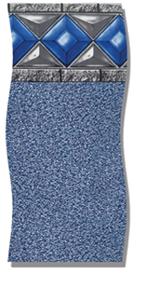 Beaded-Blue Diamond